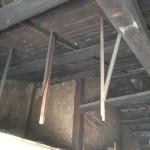 改修2日目(7/22):2階天井裏