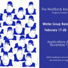 , The Westfjords Residency:Winter 2017 Group Residency(西部フィヨルド/アイスランド)