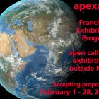 , apexart フランチャイズ・エキシビション・プログラム公募