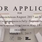 , (日本語) Nida Art Colony of Vilnius Academy of Arts (NAC)レジデンスプログラム(ヴィリニュス/リトアニア)