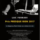 , prix Presque Rien 2017公募