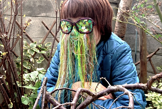KISHIDA Megumi solo exhibition Glasses thinking