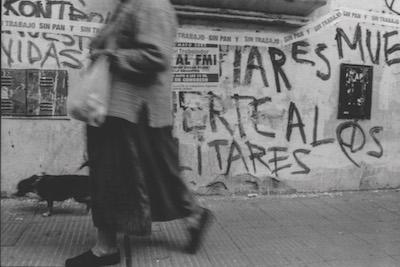 "Maria Guerberof ""Buenos Aires 2001: a culture under siege"""