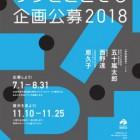 , 広島市現代美術館「ゲンビどこでも企画公募2018」公募