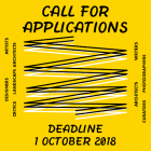 ", ""THE 2018 VAN EYCK CALL FOR APPLICATIONS """