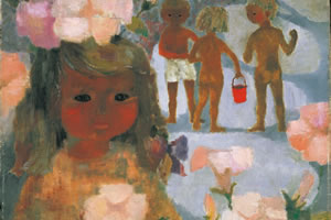 Birth 100 years  It is Chihiro Iwasaki, painter.