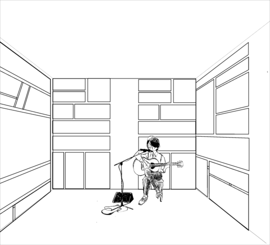 東 春予 個展 実験漫画(コミックはミュージックのように)
