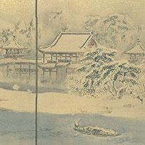 特集展示 京の冬景色