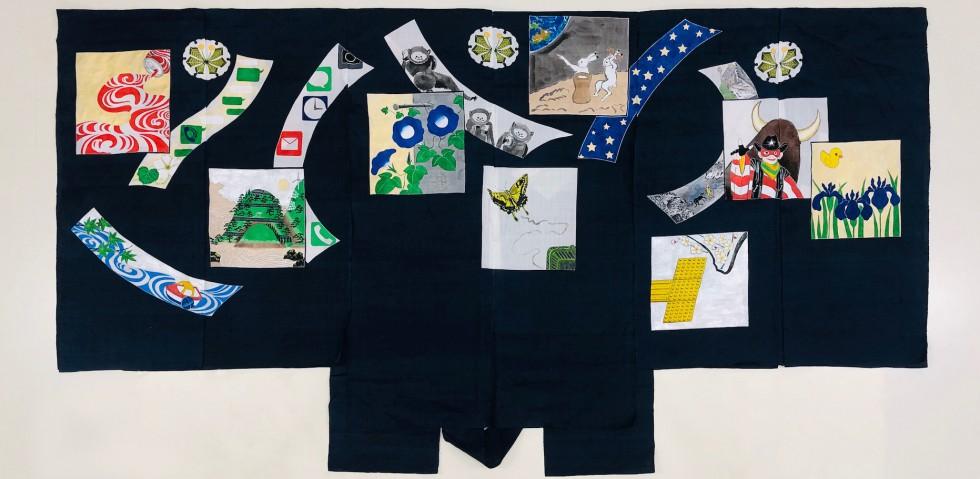 山本太郎個展「太郎冠者と太郎画家 茂山千之丞襲名披露記念|装束披露」