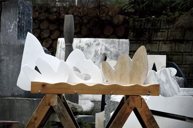 杉本準一郎 彫刻 展 銀漢の27小惑星