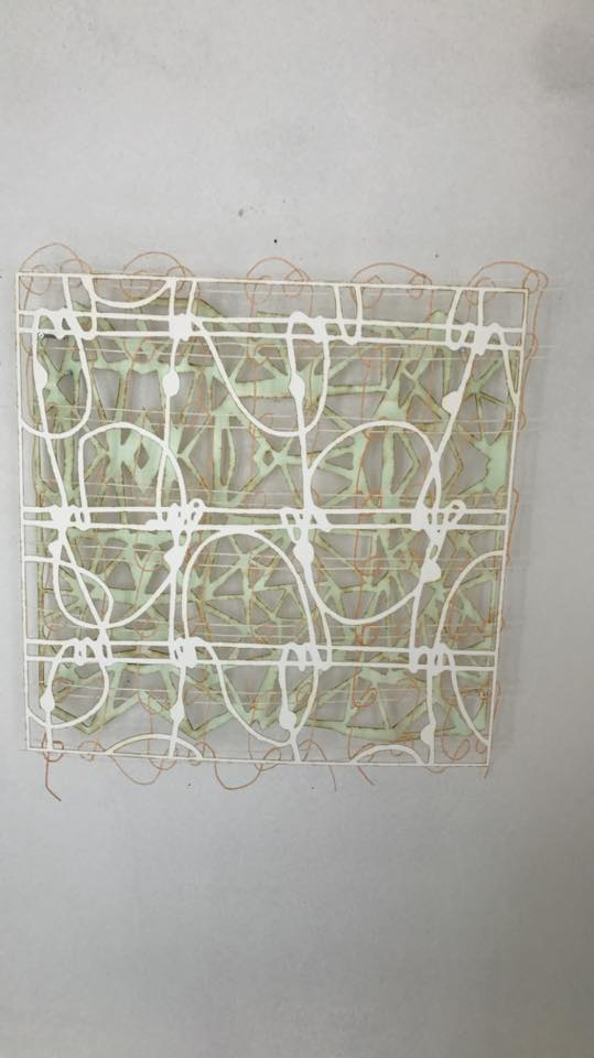 "Anne Bjorn ""Thread Drawings"""