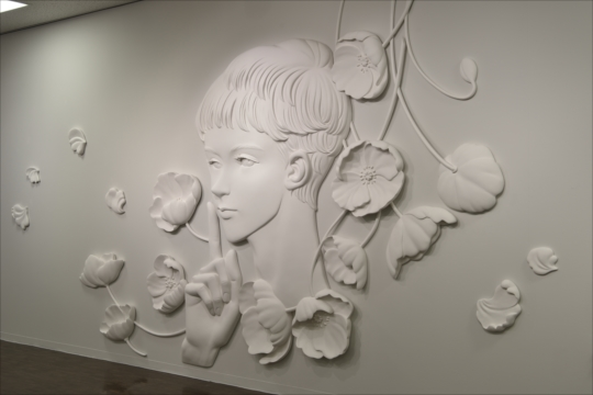 YOSHIDA Fukiko solo exhibition Aesthetic boys in the world