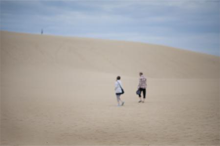 「砂丘へ To the Sand Dunes」森本徹也