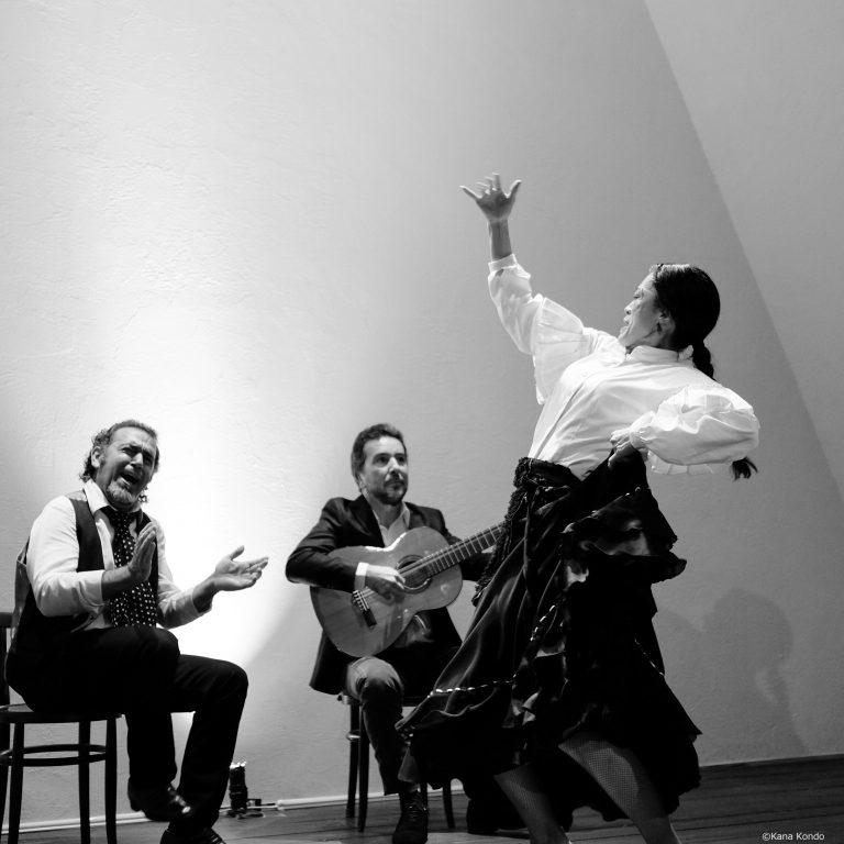 "Shiho Morita flamenco performance ""Hana 10″"