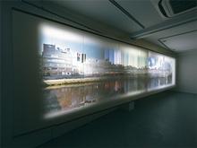 開館50周年「祝祭の日」記念展示 インスタレーション ヤマガミユキヒロ 『鴨川の印象』