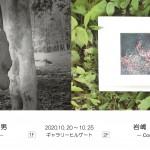 佐藤和男展・岩嶋美登里展 表