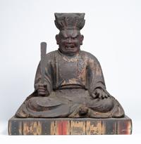 シリーズ展8「仏教の思想と文化 -インドから日本へ- 特集展示:西七条のえんま堂 -十王と地獄の美術-」